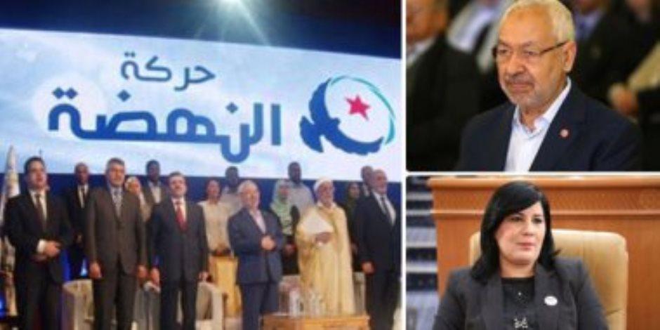 """للمرة الثانية.. عريضة توقيعات في البرلمان التونسي لسحب الثقة من الإخواني """"الغنوشي"""""""