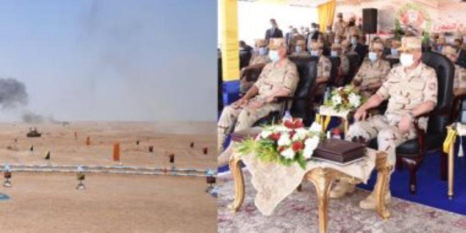 الجيش المصري يحمي ولا يهدد.. حسم 2020 أحدث مناورة للقوات المسلحة على الحدود الغربية (فيديو)