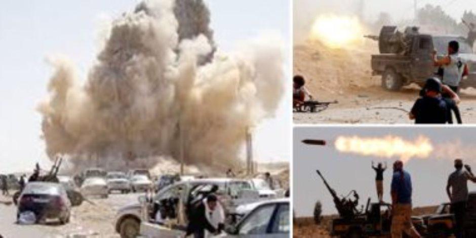 وفد من القبائل الليبية يتوجه للقاهرة لتأييد دعوة تدخل الجيش المصرى لحماية ليبيا