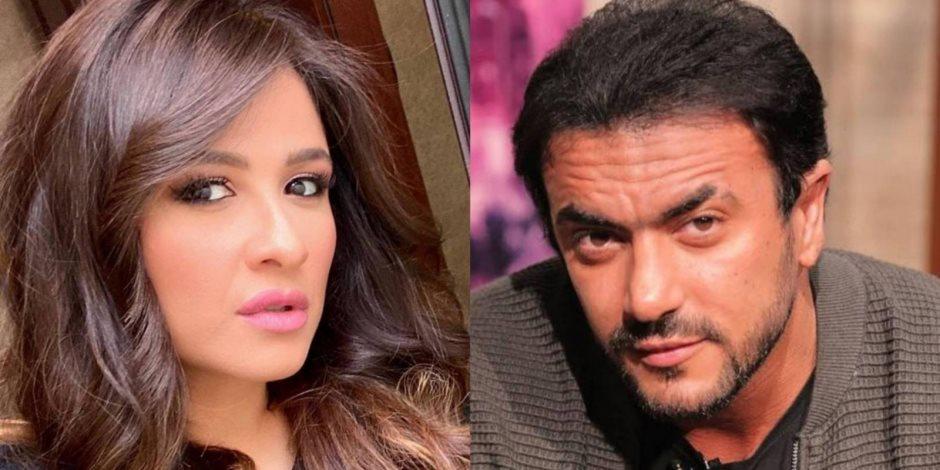 ياسمين عبد العزيز وأحمد العوضي يتصدران الترند بعد رسائل الهزار المتبادلة
