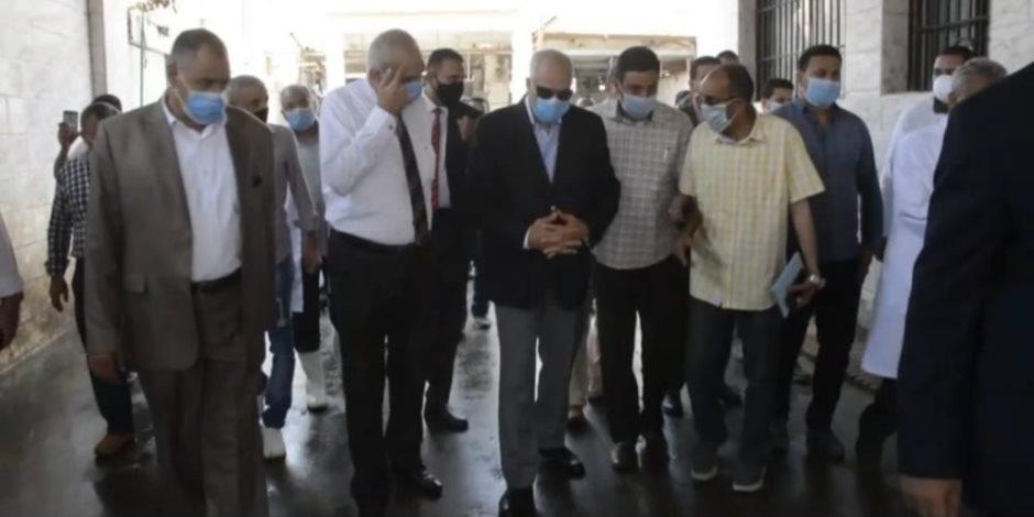 للحفاظ على صحة المواطنين.. ذبح 900 أضحية مجانية للمواطنين بمجازر محافظة الجيزة