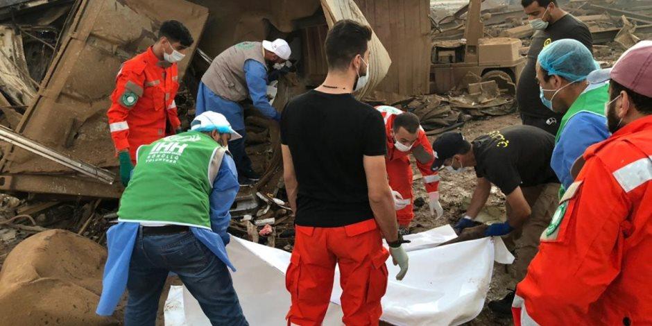 وفاة مصري ثالث فى تفجير مرفأ بيروت .. والسفارة تواصل جهود إعادة الجثامين