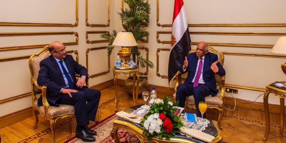 سيثري الحياة النيابية.. رئيس النواب يتحدث لرئيس تحرير الأهرام عن مجلس الشيوخ