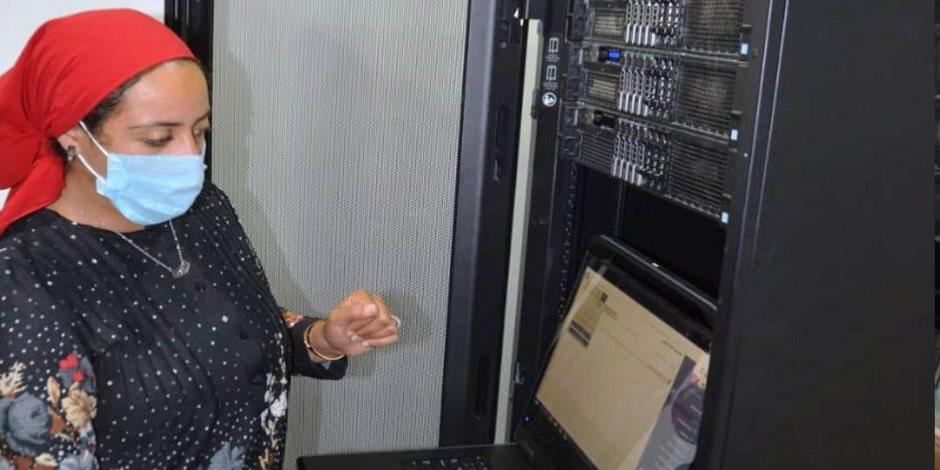 نائب محافظ جنوب سيناء تتابع بدء التشغيل التجريبي للذاكرة المؤسسية