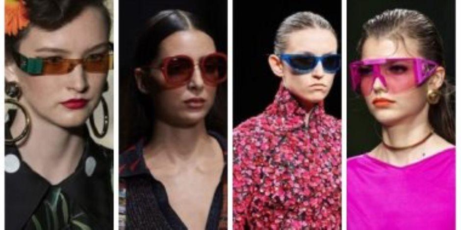 """""""عودة موضة الستينيات"""".. نظارات الشمس الملونة تسيطر على صيف 2020"""