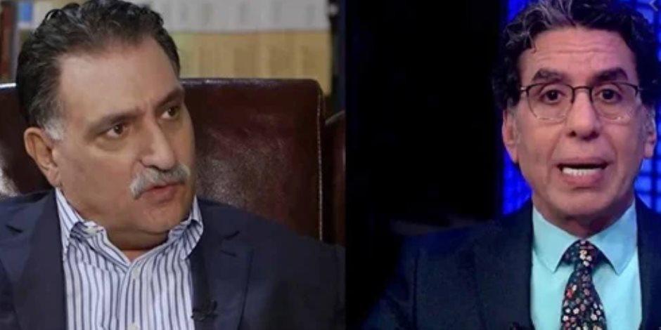 الإخوان يفضحون الإخوان.. خناقة بلال فضل ومذيع الجزيرة تكشف الصراع الشرس على التمويل المشبوه