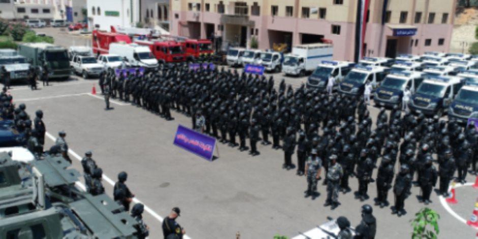 قبل ساعات من انتخابات الشيوخ .. انتشار أمني مكثف من الإسكندرية إلي أسوان ( فيديو )