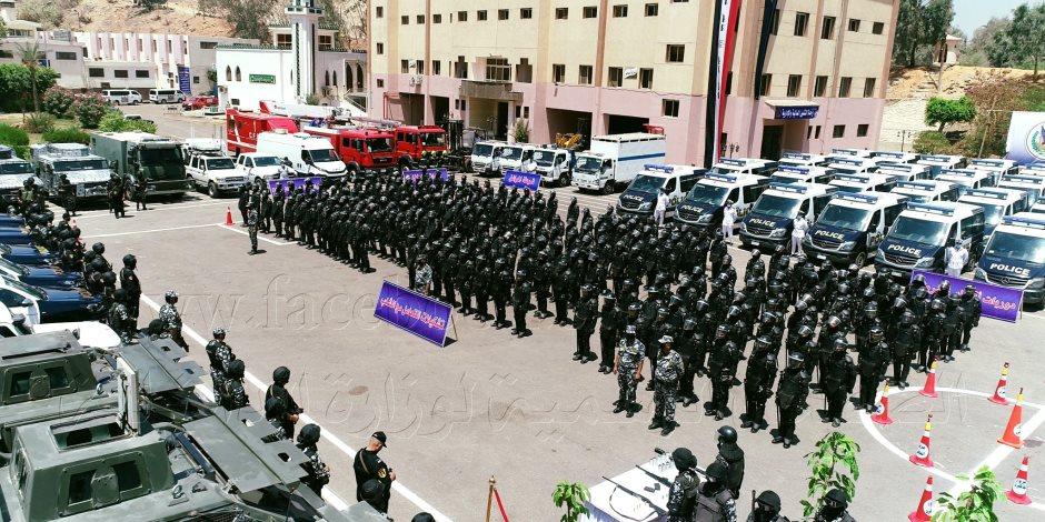 انتشار قوات الشرطة بكافة ربوع الجمهورية لتأمين انتخابات الشيوخ.. صور