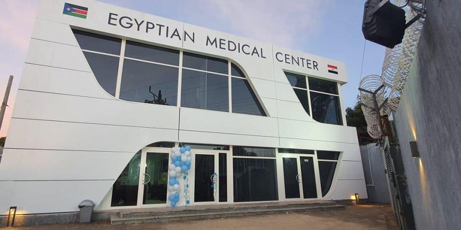 ننشر أول صور من افتتاح المركز الطبي المصري الجديد في جنوب السودان