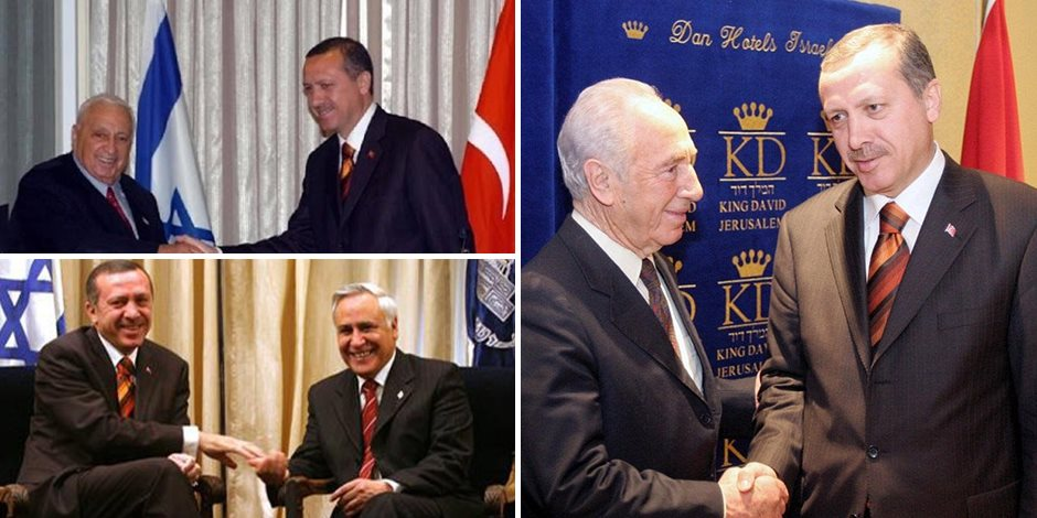 سقوط قناع أردوغان المزيف.. تاريخ الزواج السرى بين تركيا وإسرائيل