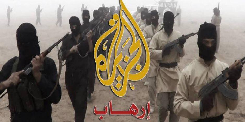 كلاهما مجّد الإرهاب.. ماذا بين الجزيرة ووكالة داعش؟