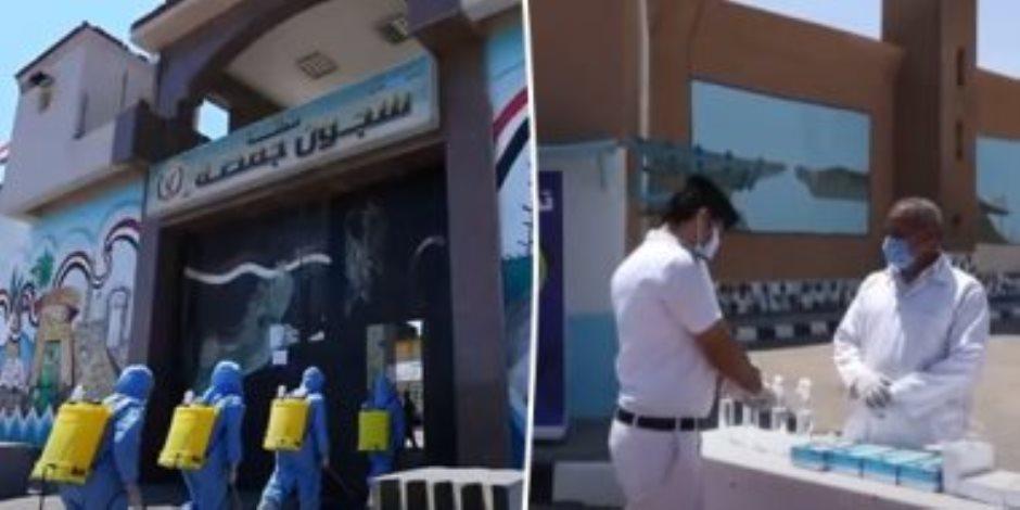 وسط إجراءات احترازية مشددة.. السجون تعيد زيارات أهالي السجناء (فيديو)