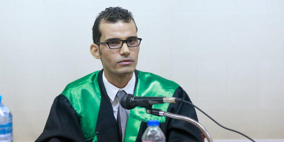 """""""صوت الأمة"""" تهنئ الزميل أحمد إبراهيم الشريف لحصوله على درجة الدكتوراه فى جامعة عين شمس (صور)"""