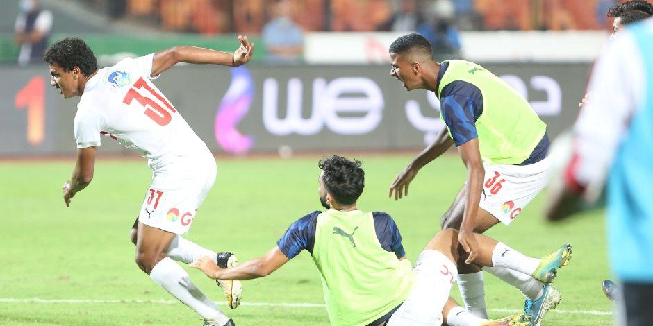 ثنائي الشباب ومصطفى محمد فى هجوم الزمالك أمام اسوان
