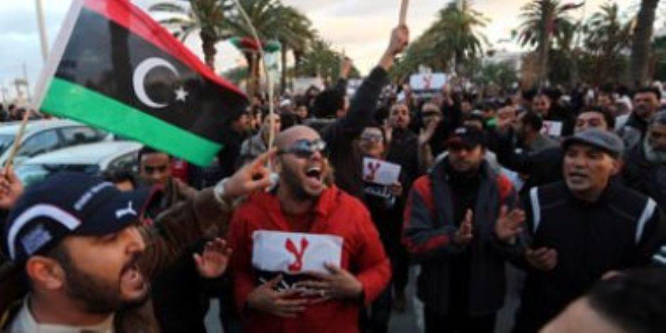 دعوات لمظاهرة مليونية فى العاصمة الليبية اليوم للمطالبة بإسقاط حكومة الوفاق