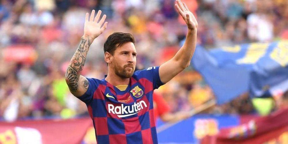 رسميًا.. ميسي يعلن البقاء في برشلونة الموسم المقبل في بيان تاريخي