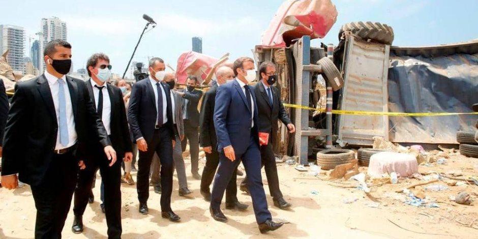 """""""حرب أهلية في لبنان"""".. ماكرون يحذّر من السيناريو الأسود"""