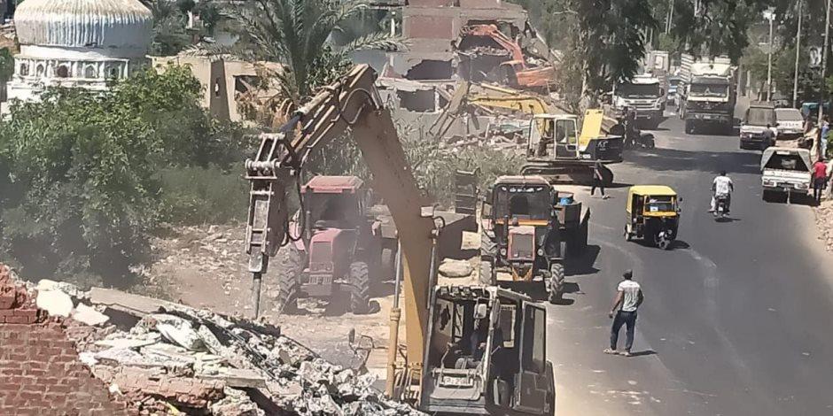 كفر الشيخ «نموذج صارخ» في مخالفات البناء.. المحافظة تتلقى 64743 طلب تصالح وتحصيل 331.6 مليون جنيه