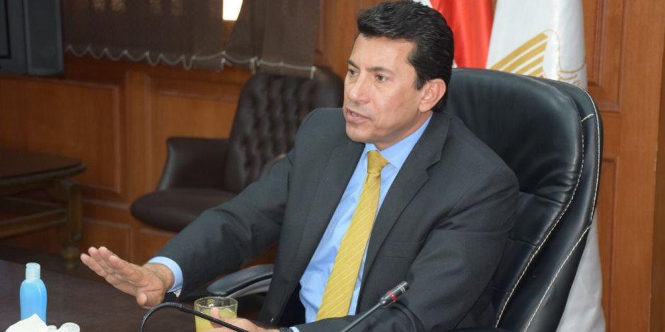 وزير الشباب والرياضة يعين المستشار عماد عبد العزيز رئيساً للزمالك