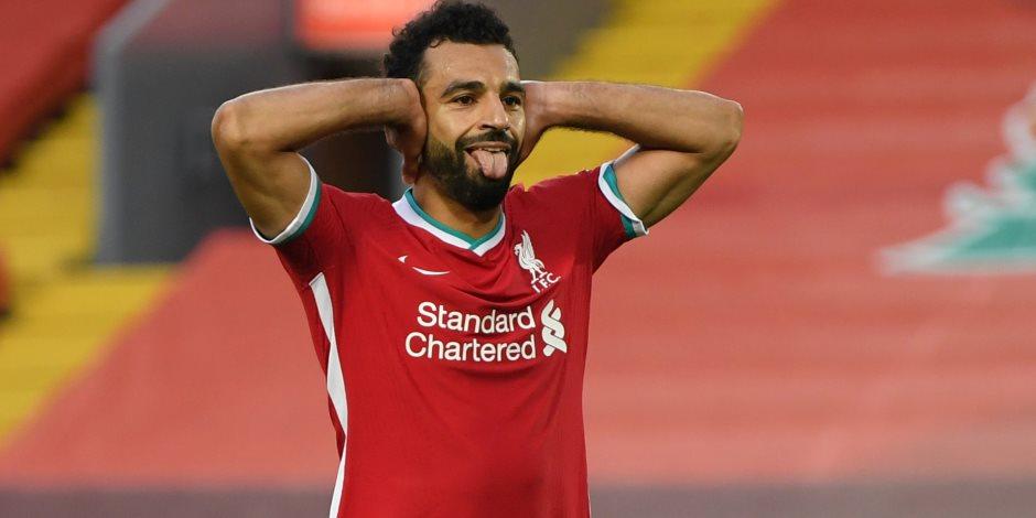 محمد صلاح ينافس على جائزة أجمل أهداف ليفربول هذا الشهر
