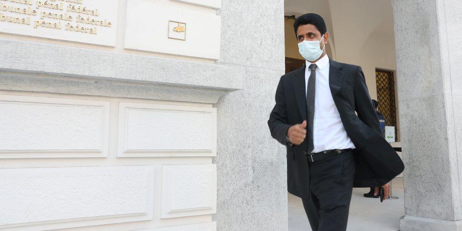 """قضية فساد ناصر الخليفي.. رئيس """"بي إن سبورتس"""" أخذ الأمين العام السابق لـ""""فيفا"""" سرا للقاء أمير قطر"""