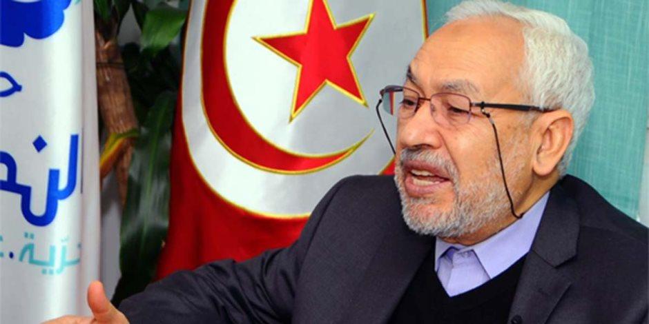 """الإخوان أفلسوا سياسيا.. """"الغنوشى"""" يسيء للرئيس التونسي"""