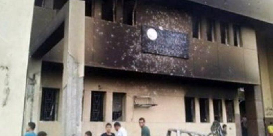 جرائمهم سطرها التاريخ .. الإخوان يحرقون أقسام الشرطة ويرتكبون المذابح ويقتلون رجال الأمن ردا علي ثوة 30 يونيو