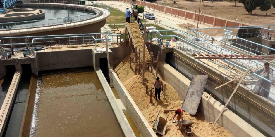 «حياة كريمة».. تفاصيل تنفيذ 310 مشروعات مياه شرب في 375 قرية وزيادة معدل التغطية لـ95%