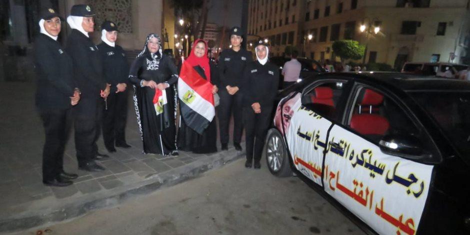 """""""قنوات الإخوان لبست الأسود"""".. مصريون يحتفلون مع الشرطة بفشل دعوات تحريض الجماعة الإرهابية"""