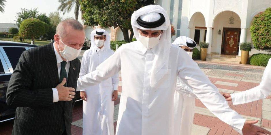 المعارضة التركية: أردوغان يهرول إلى قطر كلما انهارت الليرة