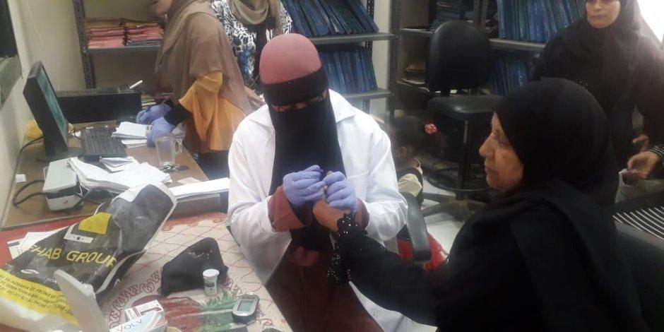 أسامة القاضي: فحص وعلاج 353 ألف مواطن بمبادرة 100 مليون صحة بالمنيا (صور)
