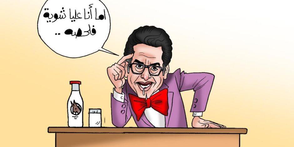 كلب الإخوان محمد ناصر يفبرك مكالمات هاتفية لمواطنين يشوهون إنجازات الدولة