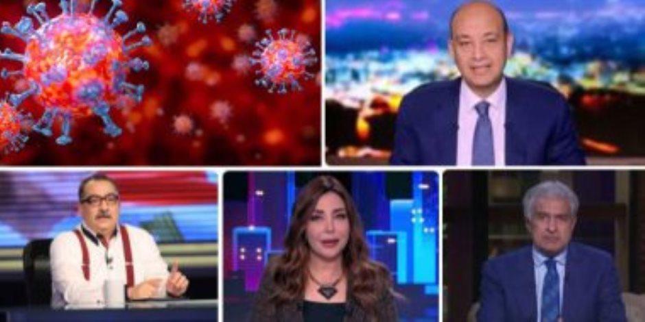 الإعلام المصري وكورونا.. حصد العلامة الكاملة في توعية المصريين بمخاطر الفيروس