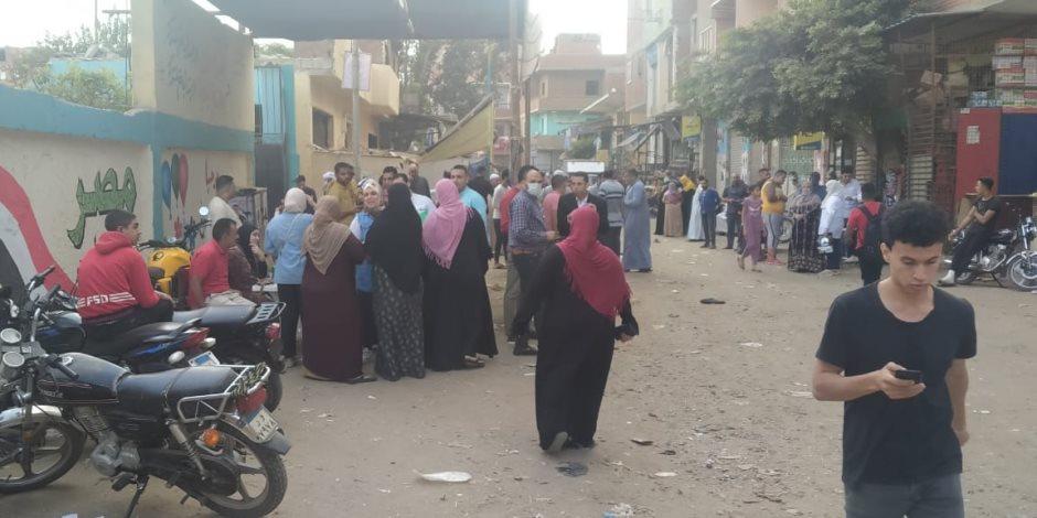 انتخابات مجلس النواب.. إقبال كبير على لجان أوسيم وجولات لمتابعة اتخاذ الإجراءات الوقائية (صور)