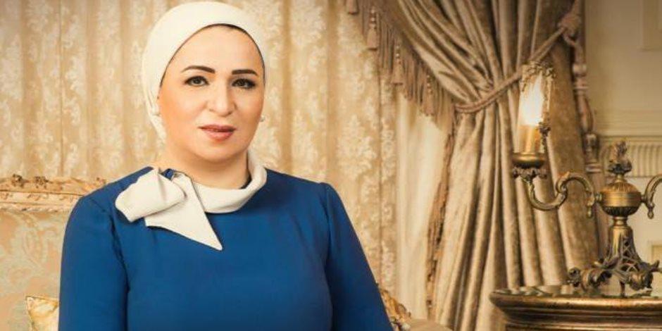 السيدة انتصار السيسي: تحية لكل عمال مصر في كل مكان وكل موقع