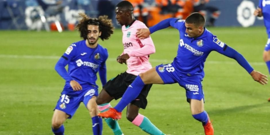 """يوفنتوس ضد برشلونة.. ديمبيلى يحرز أول أهداف البارسا بالدقيقة 14 """"فيديو"""""""