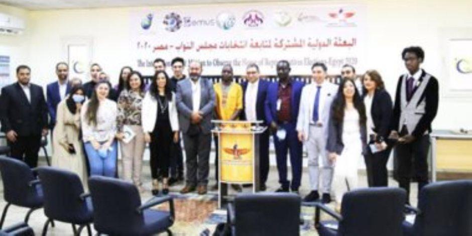 البعثة الدولية لمتابعة انتخابات مجلس النواب: الانتخابات المصرية نزيهة
