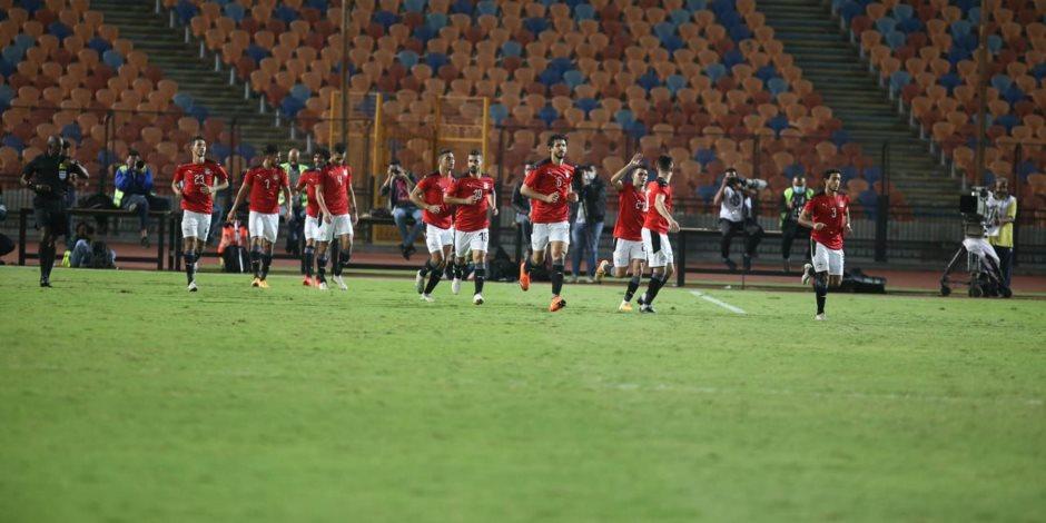 منتخب مصر يفوز على توجو 1 / 0 ويتصدر مجموعته بالتصفيات الأفريقية