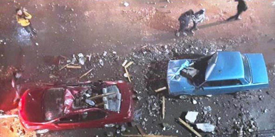 بعد ليلة مرعبة في المنصورة.. وفاة شخصين وتحطم سيارات ومحلات ولوحات إعلانية بسبب الطقس السيء