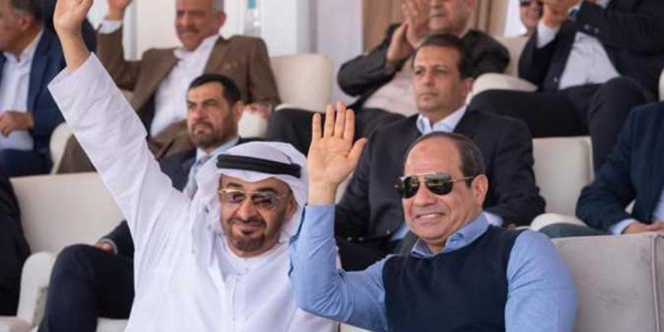 مصر السيسي وإمارات زايد: جمعتهما علاقات الأخوة والصداقة والحرص على المصالح المشتركة