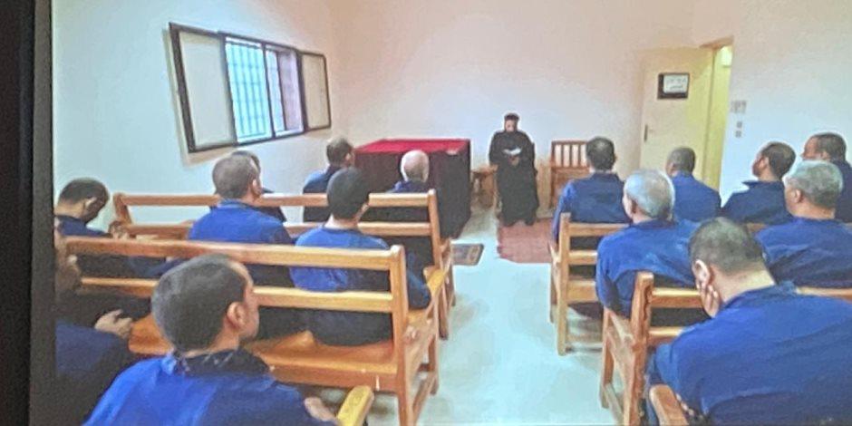 الداخلية تنظم ندوة بسجون طرة بشأن الرعاية الطبية المقدمة للمساجين (صور)