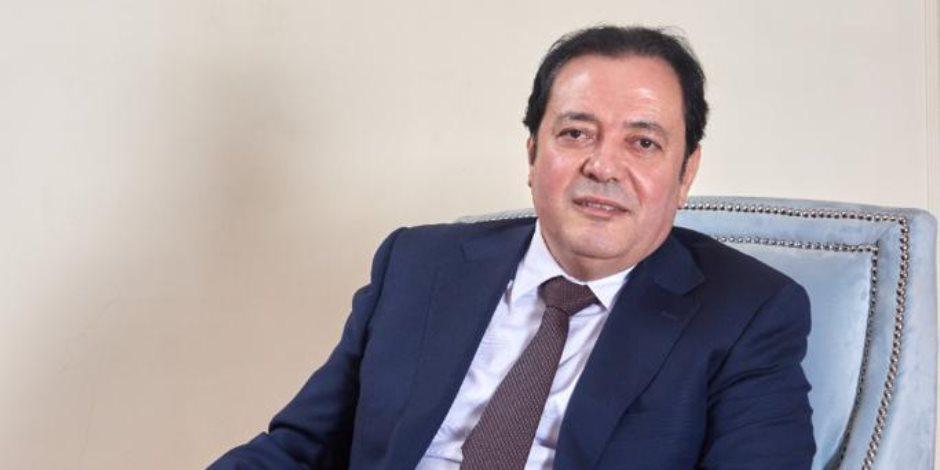 محمد مرشدى: نعيش فى أمان بفضل جهود الشرطة وأهنئ كل أبطال الجهاز بعيدهم الـ69