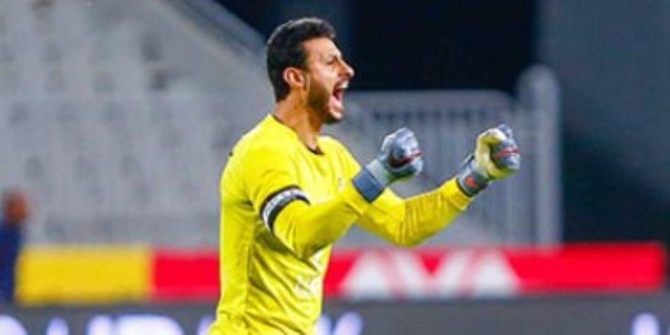 محمد الشناوي... سد النادي الأهلي كلمة السر في البطولات الكبيرة (صور)