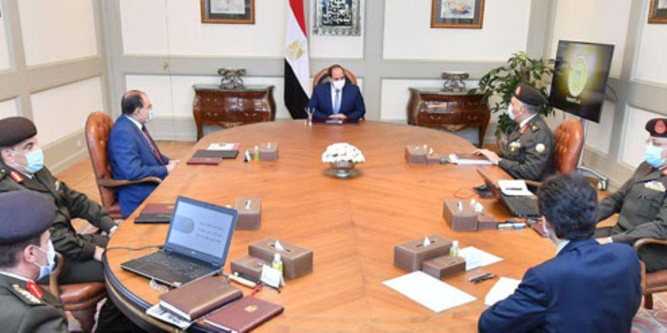 الرئيس السيسي يوجه بإنشاء الحي الدبلوماسي بالعاصمة الإدراية الجديدة على نحو متكامل