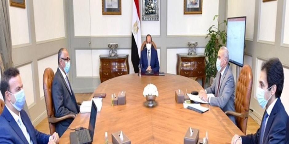 السيسى: تعاملنا مع أزمة كورونا منذ البداية شكل متوازن.. فيديو