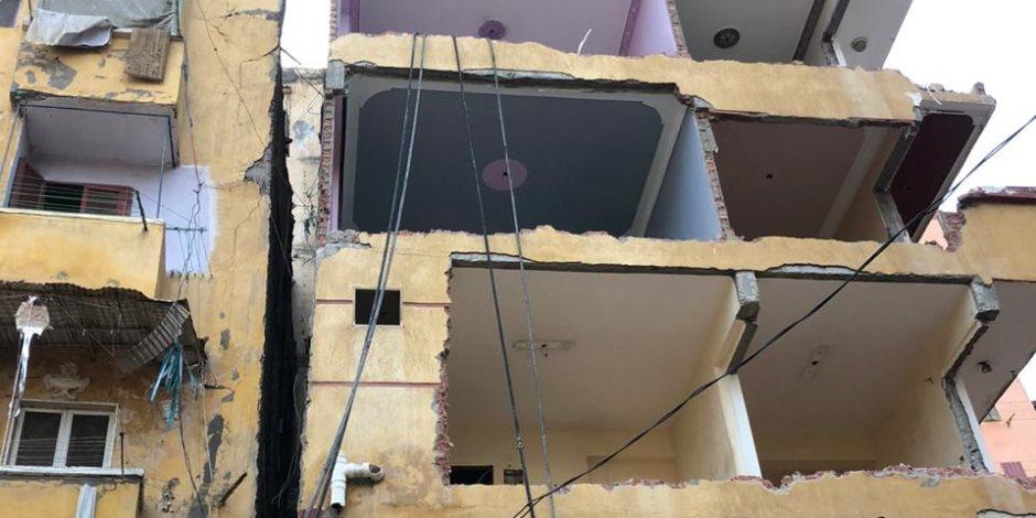 تسليم أهالي العقار المائل بالإسكندرية وحدات سكنية بمدينة «بشاير الخير 3»