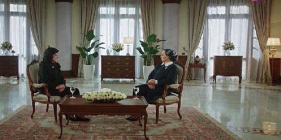 السيدة انتصار السيسي: «لما بنقوله الناس فرحانة بالإنجازات يقول لسة معملتش حاجة»