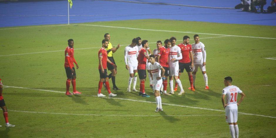 نهائي دوري أبطال أفريقيا.. 10 صور تلخص الشوط الأول من مباراة الأهلي والزمالك