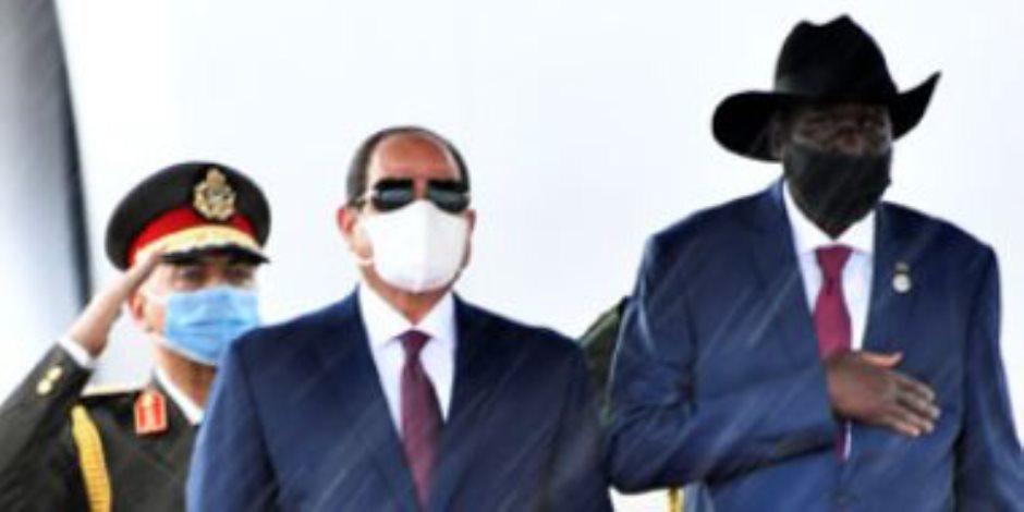 رسائل زيارة السيسي إلى جنوب السودان: الاهتمام بالأمن القومي وريادة مصر في المنطقة