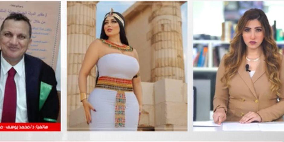 مدير آثار سقارة تعليقا على واقعة سلمى الشيمى: موظفنا بسيط ومعندوش خبرة